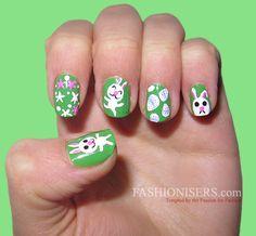 14 Cute Easter Nail Art Designs  #EasterNaildesign