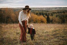 My sunset Alberta fall family photos — Bridge & Boulder Family photography