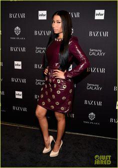 Nicki Minaj Will Premiere Ellen's 'Anaconda' Video Next Week!   2014 New York Fashion Week Fall, Joe Jonas, Miguel, Natalia Kills, Nicki Minaj, Richard Chai Photos   Just Jared