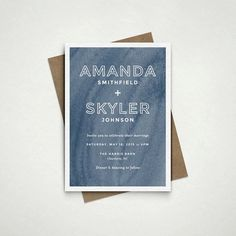 Love the watercolor texture of these printable invites. #wedding #invites #etsyfinds