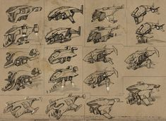 concept ships: Concept ships from openanewworld Spaceship Concept, Concept Ships, Sci Fi Spaceships, Sci Fi Ships, Sketches Tutorial, Sci Fi Characters, Mechanical Design, Futuristic Cars, Cyberpunk