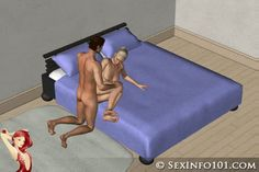 Twisted Butterfly Animated Sex Position from SexInfo101.com