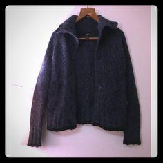 Blue Wool Kensie Sweater Blue wool Kensie Cardigan Sweater. Really warm and thick! Kensie Sweaters Cardigans