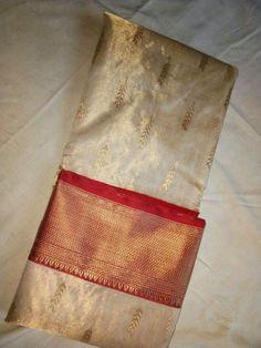 Tissue chanderi silk saree by svaada