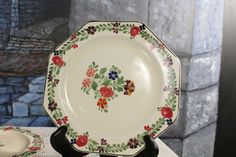 Hey, I found this really awesome Etsy listing at https://www.etsy.com/listing/217119871/adams-china-four-8-14-hand-painted