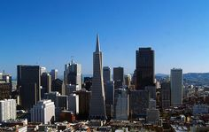 SF viewed from Coit Tower.