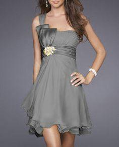 Sexy Shoulder Strap Formal Prom Short Gown Dress Bridesmaids Dress Wedding Dress | eBay