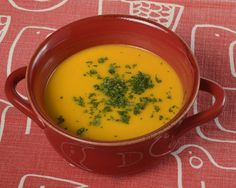 Creamy Roasted Butternut Squash Soup by Food for Health from Kaiser Permanente. I had this type of soup once and it was phenomenal. I have never been able to recreate it. This will be just another attempt.