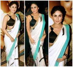 Kareena Kapoor gives a different trend of saree Collection to #Bollywoodactress #Celebritystyle