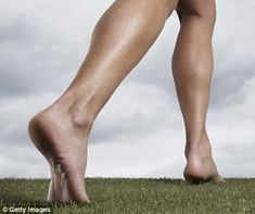 As nature intended: Exercising barefoot can help people who suffer from flat feet