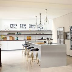 Rose Uniacke Transforms Screenwriter Peter Morgan's Historic London House - Architectural Digest Decor, Cool Kitchens, Contemporary Kitchen, Kitchen Design, Kitchen Inspirations, London House, Modern Kitchen, Rose Uniacke, Kitchen Interior