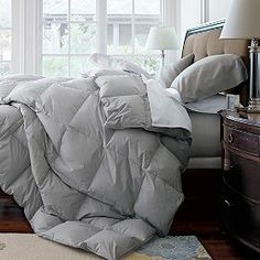 Colored Down Comforter from Lands End Dorm Queen Pinterest