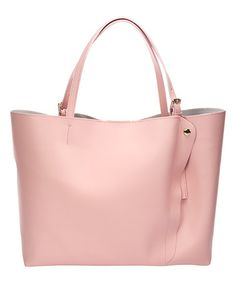 Another great find on #zulily! Rose Snap-Accent Leather Tote #zulilyfinds