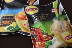 世界のリプトンのウーロン、ジャスミン、チョコレートミルクティーがおいしい