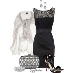 """I love this!!!! """"New Year's Eve Party (Back and Silver) contest entry #1"""" by enjoytheview on Polyvore"""
