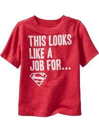 DC Comics Superman™ Tees for Baby