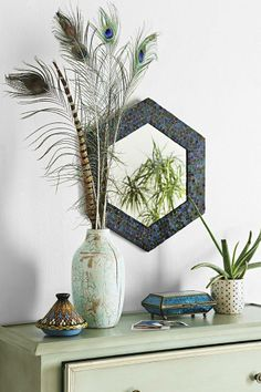 Magical Thinking Mosaic Wall Mirror #urbanoutfitters