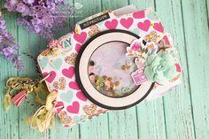 Scrapbook Cover, Mini Scrapbook Albums, Baby Scrapbook, Scrapbook Paper Crafts, Mini Albums, Diy Mini Album, Origami, Album Photo Original, Shaker Cards