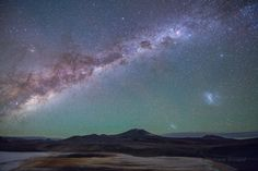 LA FOTO DESTACADA DE LA SEMANA: Galaxias desde la meseta.