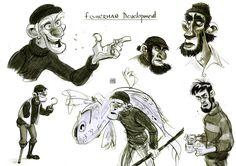 Toni REYNA blog: Character design / Diseño de Personajes