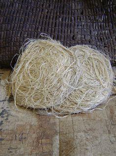 """""""Fuji o glicina, es uno de los más raros y más preciado de las fibras utilizadas en el antiguo Japón"""""""
