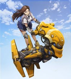 by ...    by #HOJOON_CHOI  #sci_fi    #fantasy #anime #art  #skyrim #fallout