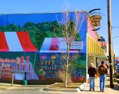 Love funky and fun West Asheville!