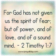 Fear not #bible #scripture