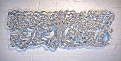 "Tree of Life (horizontal) 48"" x 18"" - Rowland Augur"
