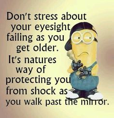Cataract surgery can fix that!