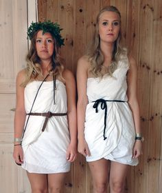 3 Ways to Make a Toga Costume Out of a White Sheet | Greek Life | Pinterest | Dancing Learning and Toga party  sc 1 st  Pinterest & 3 Ways to Make a Toga Costume Out of a White Sheet | Greek Life ...