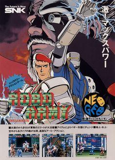 Robo Army (Neo Geo)  #RoboArmy #NeoGeo #SNK