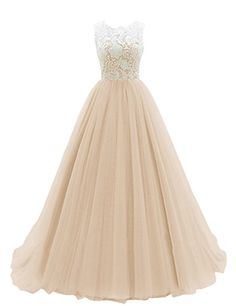 JY Women's Ruched Sleeveless Lace Long Evening Dress Prom Gown #03 US 22 Champagne Jingyang http://www.amazon.com/dp/B0183E64YA/ref=cm_sw_r_pi_dp_cYsLwb02K23T3