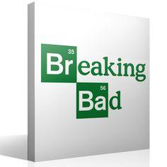 Adesivi Murali Logo Breaking Bad 1
