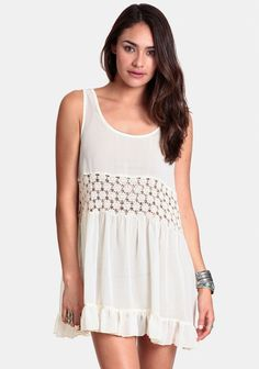 Daisy Lace Seville Tunic By Gypsy Junkies at #threadsence @ThreadSence