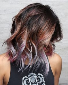 Top Hair Color Trends In Best Hair Color Ideas - Top Best New Hair Color Trends And Ideas In For Girls Women Latest Cool Hair Color Ideas And Trends To Try In Entirely Purple Hair Color This Next Hair Color Thought Demonst Hair Color Purple, Hair Color And Cut, New Hair Colors, Cool Hair Color, In Style Hair Colors, Hair Color Tips, Light Hair Colors, Unique Hair Color, Short Hair Colors