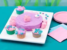 Big Fish Cake and Little Fish Cupcakes http://wm13.walmart.com/Food-Entertaining/Recipes/26209