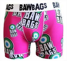 47f84cf701 BawBags Cool De Sacs Boxers - Mod Pink