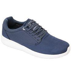 Herren Turnschuhe Crosshatch Schuhe Sneaker Schnürer Netz Laufen Designer Lässig, Die Neue - Blau - WILDLEDER, 8 UK / 42 EU - http://on-line-kaufen.de/crosshatch/42-eu-8-uk-herren-turnschuhe-crosshatch-schuhe-die