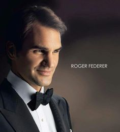 Roger Federer one of the greatest tennis players in the world. I look up to him so much. If I could be half as good as this man I would accomplish a lot