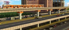 A section of #MetroRail #PhaseII will run above an #elevated #road for 17.2 km, from #Taramani to #Siruseri. #ChennaiNews #ChennaiUngalKaiyil
