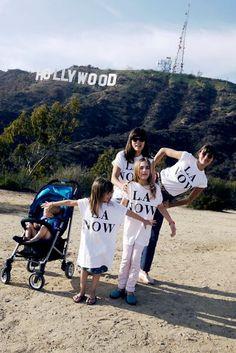 Vanessa Fuentes und Nada Lottermann waren mit ihren insgesamt 3, bald 4 Kinden einen Monat lang in Los Angeles - Mummy Mag | Lottermann Fuentes Cybex VI