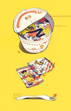art and kawaii image Art And Illustration, Illustrations And Posters, Character Illustration, Inspiration Art, Art Inspo, Psychedelic Art, Art Mignon, Art Japonais, Wow Art