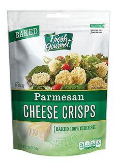 Fresh gourmet Parmesan Cheese Crisps, 1.76 Ounce