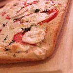 Fresh Mozzarella and Tomato Margarita Pizza Recipe