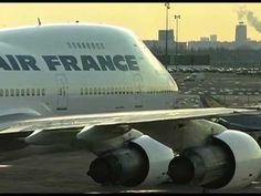 Boeing 747-128 F-BPVJ : arrivée en vol au musée de l'Air et de l'Espace ...