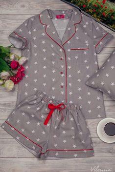 Cute Pajamas, Kids Pajamas, Pajamas Women, Pyjamas, Pajama Outfits, Kids Outfits, Cute Outfits, Fashion Sewing, Kids Fashion