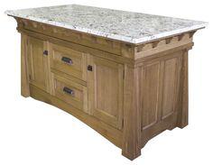 Craftsman kitchen islands - Google Search