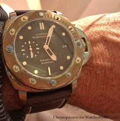 Bronzo.. PAM382.. These are badass.. They will develop a nice patina..