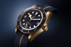 "Introducing: Tudor Heritage Black Bay Bronze ""Blue Edition"" (Bucherer Exclusive)"